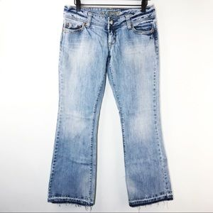 American Eagle Artist Jeans Vintage Drop Hem Flare